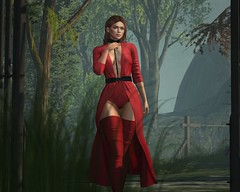 Untouched (tillbytines) Tags: genus genusproject project ison isonsl scandalize scandalizesl genusprojectsl secondlife slphotography slfashion second life secondlifefashion secondlifemodel secondlifestyle style fashion virtualstyle virtualphotography virtualmodel virtual velfie selfie photography nature natural trees grass depth field red dress harness thighhigh thigh high boots contrast