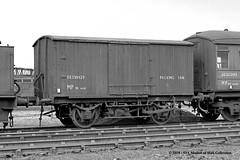 c.10/1964 - Dairycoates (50B) MPD, Hull, East Yorkshire. (53A Models) Tags: britishrailways lner breakdowntrain packingvan de539329 departmental dairycoates 50b mpd hull eastyorkshire train railway locomotive railroad