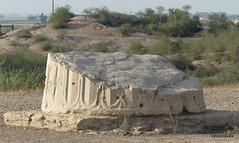 Susa (Shush), Darius's Palace, Apadana Column (1).JPG (tobeytravels) Tags: sus susan elamite seleucid parthian sasanian zagros shushan jacquesdemorgan rawlinson neolithic ubaid uruk banesh sargon akkadian kutikinshushinak awan neoassyrians layard achaemenid cyrus cambyses alexanderthegreat