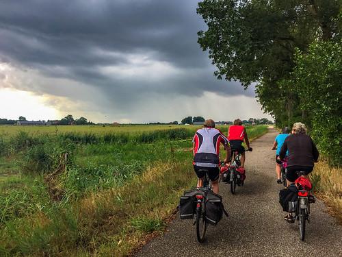 Cycling through Friesland
