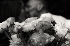 The Promise (W@nderluster) Tags: biancoenero blackandwhite blancetnoir blancoynegro kiss wedding matrimonio bacio flower fiori dof depthoffield bokeh canon eos 1300d 50mm poetry portrait people happy love amore