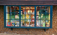 Gift shop window (Keith Coldron) Tags: window sandringhamestate queens estate gifts building norfolk