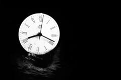 2018 down the plughole. Happy New Year. (WibbleFishBanana) Tags: macromondays redux2018 monochrome circles lowkey measurement clock time wormhole whirlpool 2018 water liquid happynewyear 2019 hogmanay