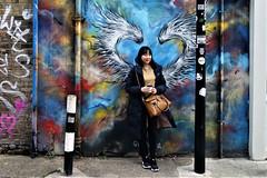 Street Art in London (claude 22) Tags: london uk graffiti paint aero graffeur painting claude22 arteenlacalle pinturaenlasparades streetart urbanart vividcolor graff urban arte england
