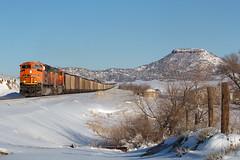 BNSF 9266 Greenland 13 Jan 19 (AK Ween) Tags: bnsf bnsf9266 emd sd70ace greenland colorado jointline larkspurbutte train railroad