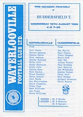 Waterlooville v Huddersfield Town (Havant & Waterlooville) Tags: havant waterlooville football programme