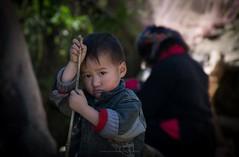 Do you like mondays? (aniawagner) Tags: vietnam vietnamese viet sapa child portrait portraiture
