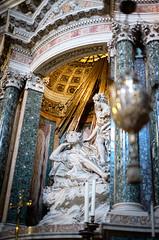 36469 - Santa Maria Vittoria (Diego Rosato) Tags: santa maria vittoria holy saint mary victory chiesa church statua statue nikon d700 50mm sigma rawtherapee