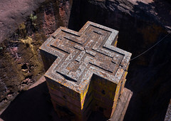 Aerial view of the monolithic rock-cut church of bete giyorgis, Amhara Region, Lalibela, Ethiopia (Eric Lafforgue) Tags: aerialview africa amhararegion ancient architecture builtstructure carving christianity church colourimage colourpicture cross day drone ethiopia ethiopia18dr0186 famousplace fullframe giyorgis history horizontal hornofafrica internationallandmark lalibela medieval monolithic monument nopeople orthodox orthodoxchurch outdoors photography placeofworship religion rock saintgeorge scenics spirituality stgeorge stgeorgeschurch traveldestinations unescoworldheritagesite et