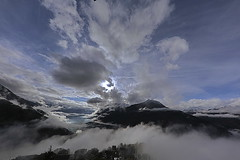 Valcamonica nelle nubi (il goldcat) Tags: goldcat valcamonica cevo valsaviore montagne mountains nubi clouds