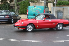 Alfa Romeo Spider 2.0 (CHRISTOPHE CHAMPAGNE) Tags: 2018 france epernay marne champagne habits lumiere alfa romeo spider 20
