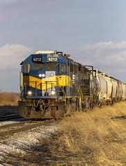 101 Tuscola (Defective Defects) Tags: railroad railway train drei tuscolail ficklinil locomotive emd gp382 gp402 watco