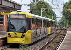 """Manchester Metrolink Bombardier """"Flexity Swift"""" M-5000 type No.3004B at Sale on 5 Oct 2018 (Trains and trams eveywhere) Tags: manchester metrolink tram localtransport electric flexityswift m5000 bombardier sale"""