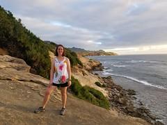 Sara on Maha'ulepu Trail (jtbradford) Tags: kauai hawaii