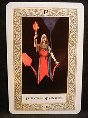 Princess of Wands. (Oxford77) Tags: tarot thenorsetarot norse viking vikings cards card tarotcards