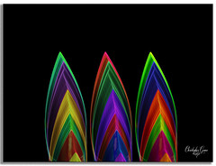 Imperfection (Christopher Grace Photography) Tags: light painting photography abstract flower red green blue yellow black 3 minimal weird fuji purple exporsure bright catchy pattern print texture art