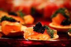 Smoked salmon with caviar! (corineouellet) Tags: focus details canonphoto canon love caviar smokedsalmon salmon tasty yummy cooking cook foodies foodie foodphoto food