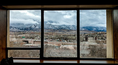 Room with a View - Colorado Springs (BeerAndLoathing) Tags: view usa cellphone winter mountains antlers clouds pixelxl vista frame stormy 2018 googleandroid sky window android roomwithaview coloradosprings snow colorado unitedstates us spring april