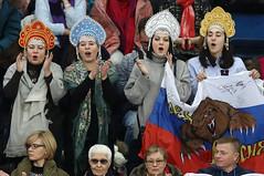 Фигурное катание. Чемпионат Европы по фигурному катанию (Sport24.ru) Tags: спорт sport кокошник флаг сборнаяроссии россия медведь