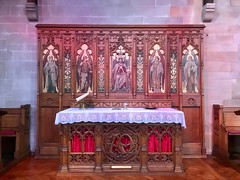 St. Peter's Church, Antrim Road, Belfast (John D McDonald) Tags: iphone iphone7plus appleiphone appleiphone7plus belfast northernireland ni ulster geotagged church altar table communiontable churchofireland coi anglican reredos