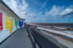 samyang 14mm-17 (istee@live.co.uk) Tags: cromer pier beach seaside wideangle superwideangle sea waves samyang 14mm sonya7rii clouds sky blue
