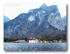 Königssee and St. Bartholomä. (natureflower photography) Tags: königssee berchtesgaden national park bavaria germany third deepest lake jurassic rift kings st bartholomä mountains fjord salzach