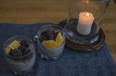 Nyttig frukost i novembermörkret (My Photolifestyle) Tags: fs181118 nyttigt healthy fotosondag chiapudding frukost