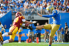 NCAA Football: USC Trojans at UCLA Bruins, November 17, 2018, The Rose Bowl, Pasadena, CA. (Steve Cheng, Bruin Report Online) Tags: ncaafootball pac12 rosebowl uclabruins usctrojans