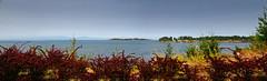 Sunrise Ridge Panorama (Roberto Pavan) Tags: nikon d7k d7000 daylight bokeh sigma1770c sigma ocean outdoor water