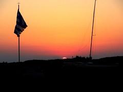 Antiparos Sunset (dimaruss34) Tags: newyork brooklyn dmitriyfomenko image greece antiparos sky clouds sunset flag cross