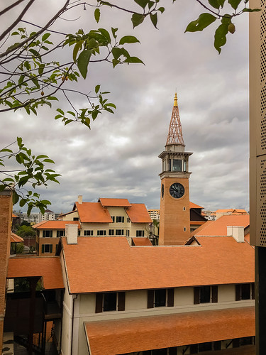 Clock Tower from U Nimman, Chiang Mai