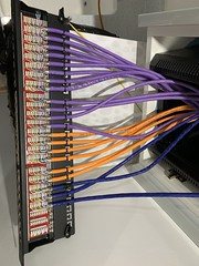 "Supplied Patch Panel, Patched the Cat6a and Cat7 Data Cables and Rack amounted. • <a style=""font-size:0.8em;"" href=""http://www.flickr.com/photos/161212411@N07/44234363000/"" target=""_blank"">View on Flickr</a>"