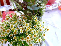 Floral Arrangement at Wedding (dimaruss34) Tags: newyork brooklyn dmitriyfomenko image greece antiparos flowers table