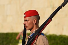 ON GUARD, CHANGING OF THE GUARD, ATHENS, GREECE, ACA PHOTO (alexanderrmarkovic) Tags: onguard changingoftheguard athens greece acaphoto