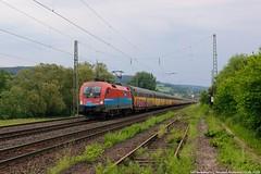 "ÖBB/RCC 1016 045 ""Rail Cargo Hungaria"" am 23.05.2018 mit einem ARS Altmann in Oberhaun (Eisenbahner101) Tags:"