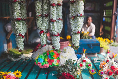 the language of flowers (s.v.e.n.) Tags: flower bouquet market mullick ghat calcutta kolkata west bengal india traven colour street canon 5dmkii 35mmf14 35mm