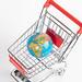 Globe in shopping cart