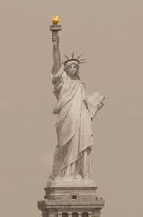 Statue of Liberty in Sepia (Heaven`s Gate (John)) Tags: statue statueofliberty liberty art flame newyork usa america johndalkin heavensgatejohn sepia history heritage 4thjuly independence closeup 10faves