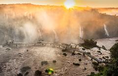 Cataratas del Iguazú - Lado Brasilero (II) (matiasrquiroga) Tags: sunset dawn sun atardecer waterfalls cataratas iguazu iguacu brasil argentina beautiful landscape paisaje amazing wonders world