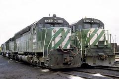 BN SD45 6459 (chuckzeiler50) Tags: bn sd45 6459 railroad emd ge locomotive clyde train chuckzeiler chz