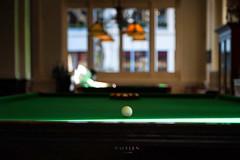 """Billiards at the Raffels"" (helmet13) Tags: d700 raw selectivefocus bokeh billiard pooltable singapore raffleshotelsingapore afternoon silence relaxing game leisure poolplayer cuesports aoi peaceaward snooker world100f"