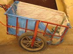 Balak, Balak (Greenstone Girl) Tags: handcart transport fes fez medina morocco