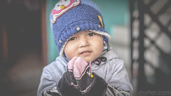 Namaste (#Weybridge Photographer) Tags: canon 5d mk ii eos slr dslr nepal asia kathmandu mkii child girl namaste