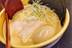 鶏白湯味噌らーめん ¥770 (HAMACHI!) Tags: kintonramen tokyo 2018 japan 三軒茶屋 sangenjaya ramen noodle food foodie foodporn foodmacro 鶏白湯味噌らーめん(細麺)