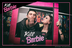 0310 (Ester Vulpiani Photographer) Tags: kill barbie wishlist roma night life dance dancing club clubbing nightlife disco girl girls frame pink fuxia smile smiling happy people kiss love portrait dj djs happiness friendship friends friend 2018 ester vulpiani canon eos 550d