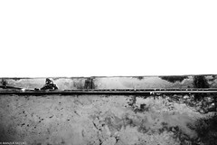 Welder (Manzur takes photos) Tags: 201118changde welder china street photography fujixpro2 35mm blackwhite monochrome