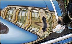 Morris, Rétrofolies 2018 de Spa, Belgium (claude lina) Tags: claudelina belgium belgique belgië spa rétrofolies rétrofolies2018spa auto voiture car véhicule oldcar vieillevoiture morris reflets reflections