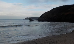 Photo of winters day, ceredigion coast.