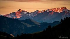 Le massif des Diablerets (Switzerland) (christian.rey) Tags: moléson diablerets oldenhorn coucherdusoleil coucher soleil sunset alpes vaudoises fribourg gruyère paysage landscape mountains alps croix sony alpha a7r2 a7rii 70200