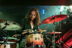 Leo Vaessen : bateria - Wucan (samarrakaton) Tags: wucan 2018 samarrakaton nikon d750 2470 bilbao bilbo santana27 rock direct live directo concert concierto bandarock rockband bateria drums